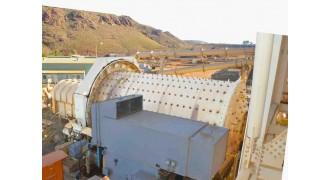 Ball Mill Outotec (Nordberg) 4.5 m diameter (14.46') x 7.45m (24.44') long x 2600 kW (3460 HP)