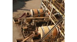 Ball Mill Metso (Svedala) 1.8 m diameter (5.9') x 2.8m (9.18') long x 120 kW drive