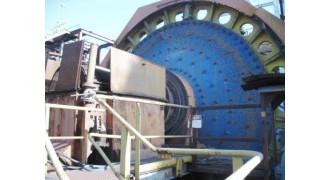 SAG MILL Outotec (Morgardshammar) SAG MILL 5.2m diameter (17.1') x 4.87m L F/F (16') x 2000 kW Drive