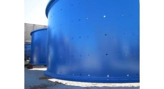 AG Mill Vickers Ruwolt 5.3m Dia x 5.6m L (17.88 ft x 18.37 ft) with Drive