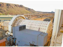 Ball Mill Outotec (Nordberg) 4.5 m diameter (14.46') x 7.45m (24.44') long x 2600 kW (3460 HP)