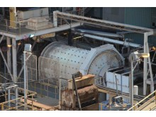 Ball Mill Outotec (Nordberg) 3.2 m diameter (10.49') x 5.3m (17.38') long x 850 kW (1130 HP)