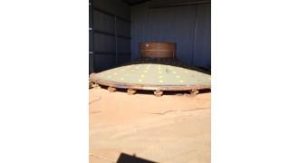 7.32 m dia x 5.2m x 4750 kw Outotec SAG mill- mill head_1