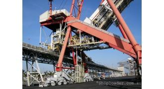 8200 M TPH Shiploader