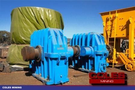 SAG Mill Speed Reducers